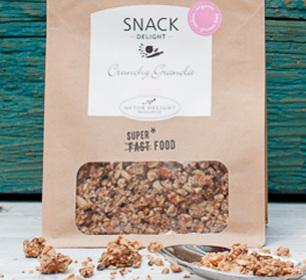 Crunchy Granola, Snack Delight