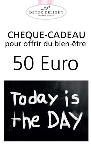 Detox Delight - Chèque-cadeau 50 Euro