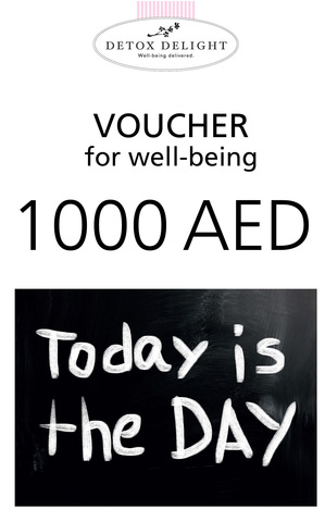 Detox Delight - Voucher 1000 AED