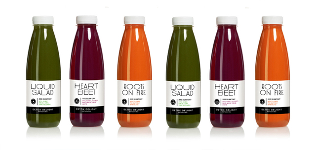 Detox Delight - Juice Delight Sixpack Mixed