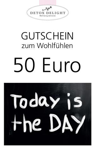 Detox Delight - Gutschein 50 Euro