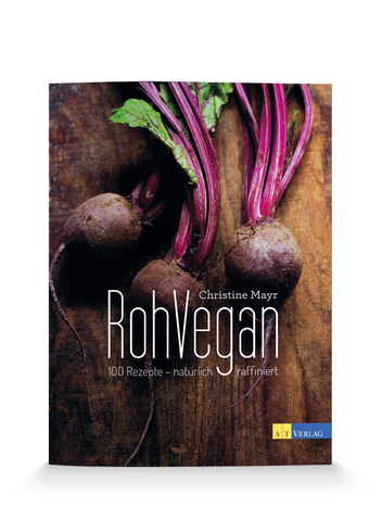 Detox Delight - Kochbuch RohVegan Cover