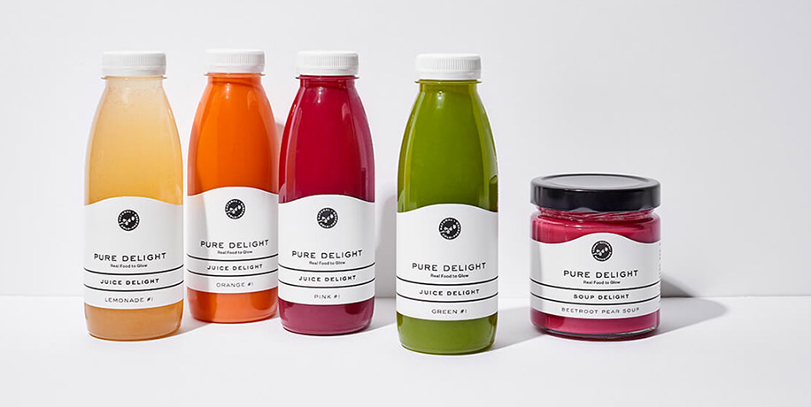Pure Delight - Juice & Soup Delight Säfte und Suppe
