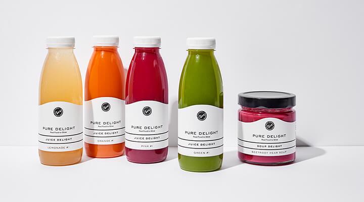 Pure Delight - Juice & Soup Delight Säfte und Suppe